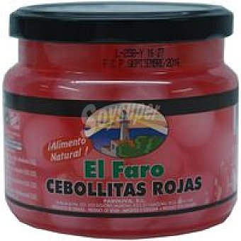 Faro Cebollitas rojas agridulces Frasco 500 g
