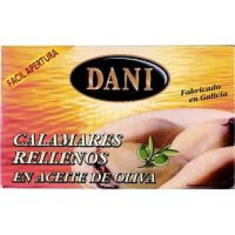 Dani Calamar relleno en aceite de oliva Lata 68 g