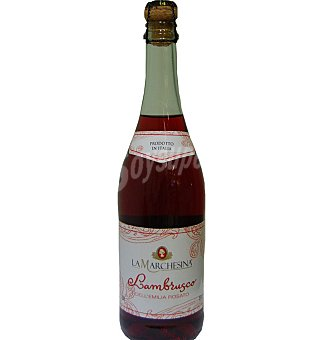 Lambrusco marchesina rosado 75 CL