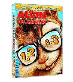 Trilog alvin y las ardillas dvd