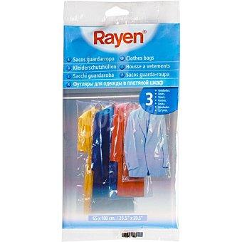 Rayen Sacos guardarropa 65x150 cm envase 3 unidades envase 3 unidades