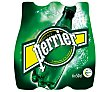Agua mineral con gas Pack 6 botella x 50 cl Perrier Nestlé