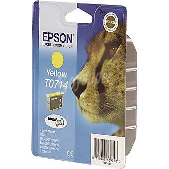 EPSON Stylus T0714 Cartucho de tinta color amarillo