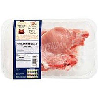 Eroski Natur Chuleta de lomo de cerdo Eroski 4 unid