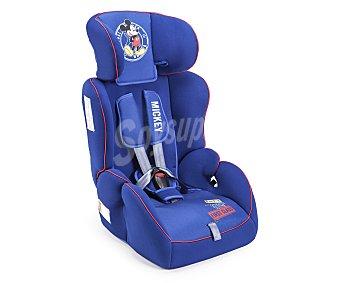 Disney Silla de auto para grupo 1-2-3, color azul, mickey mouse disney 1-2-3
