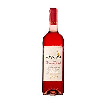 Los Molinos Vino rosado tempranillo con denominación de origen Valdepeñas Botella de 75 cl
