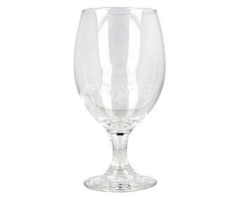 MAHOU OPEN Copa de vidrio transparente para cerveza de 40 centilitros MAHON. 40 centilitros