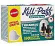 Recambios insecticida antimosquitos más difusor 3 x 33 ml Kill-Paff