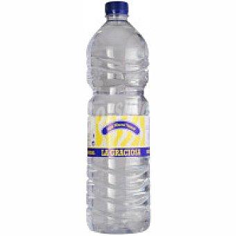 La Graciosa Agua mineral Botella 1,5 litros