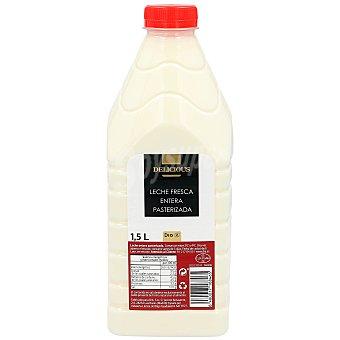 DIA Delicious Leche entera fresca Botella 1,5 l