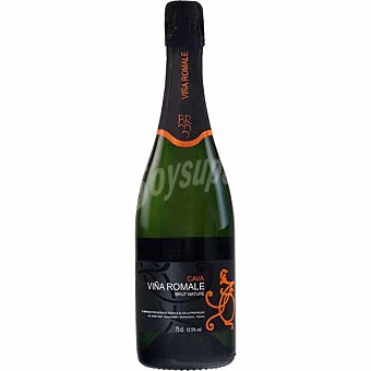 VIÑA ROMALE Cava semiseco brut nature  botella 75 cl