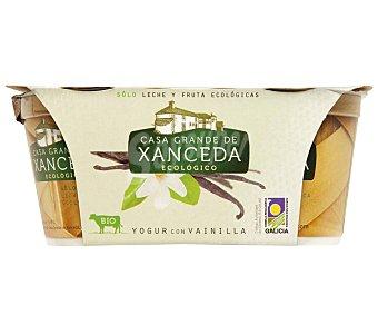 Xanceda Yogur vainilla ecológico 2 unidades de 125 gramos