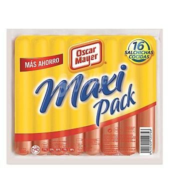 Oscar Mayer Salchichas de pavo maxi pack Oscar Mayer sin gluten 880 g