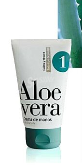 Deliplus Crema manos Nº1 hidratante aloe vera Tubo 125 cc