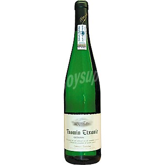 TXOMIN ETXANIZ Vino blanco txacoli de Guetaria Botella 75 cl