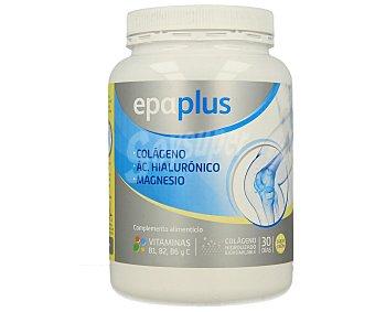 Epaplus Complemento alimenticio a base de colágeno, ácido hialurónico y magnesio con sabor a limón 375 gramos