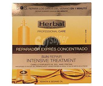 Herbal Essences Tratamiento capilar , reparador intensivo 4 ampollas