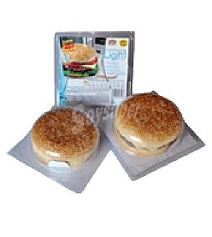 Miguel Vergara Hamburguesa light con queso 200 g