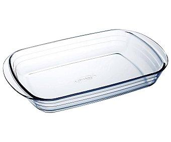 Arcuisine Fuente rectangular de vidrio con asas, 33x20cm., arcuisine 1,8 litros