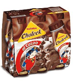 Choleck Batido chocolate Pack de 6x175 ml