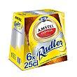 Cerveza radler con zumo de limón Pack 6 botellines x 25 cl Amstel