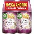Ambientador F.M Duplo Rec Delicias Verano  2 recambios de 250 ml Air Wick