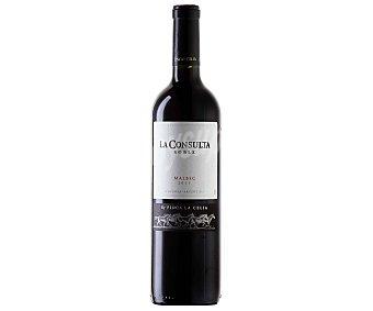 La Consulta Vino tinto argentino roble Malbec Botella de 75 cl