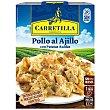 Pollo al ajillo con patatas bandeja 250 gr bandeja 250 gr Carretilla
