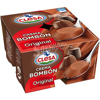 Clesa Crema bombón original sin gluten Pack 8 unidades 125 g