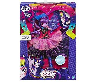MY LITTLE PONY Muñeca Equestria Girl, Twilight Sparkle Super Fashion 1 Unidad