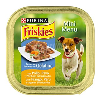 Purina Friskies Mini Menú de pollo-pavo Tarrina 150 g
