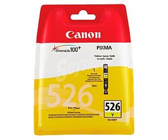 Canon Cartucho de tinta PGI-526, Amarillo, compatible con impresoras: iP4850 / iP4950 / iX6550 / MG5150 / MG5250 / MG5350 / MG6150 / MG5260 / MG8150 / MG8250 / MX885