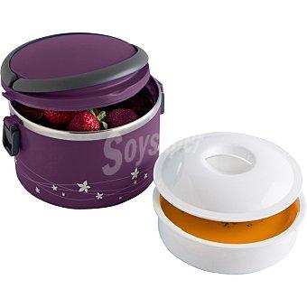 QUID Go Maxilunch Lunch Box Redondo 1 l en color morado 1 l