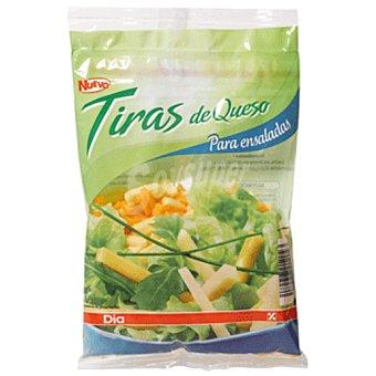 DIA Tiras de queso para ensaladas Bolsa 150 g