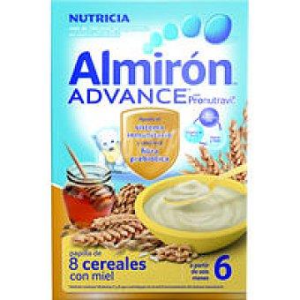 ALMIRON Papilla de 8 cereales-miel-bífidus Advance Caja 600 g