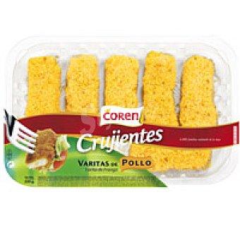 Coren Varitas de pollo Bandeja 220 g