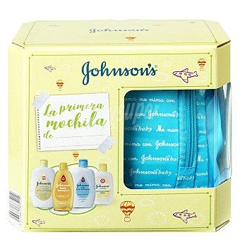 Johnson's Baby Mochila azul de baño bebé (champú, loción, baño hidratante, colonia) Johnson's Baby 1 ud