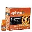 Complemento alimenticio con jalea real vitaminada en cómodos viales energía vitamax 18 uds Apiserum