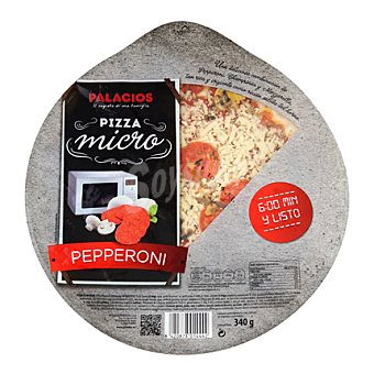 Palacios Pizza peperoni microondas 340 g