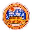 Munster queso francés mini de pasta blanda elaborado con leche pasteurizada de vaca pieza D.O.P. Lorraine 125 g Ermitage