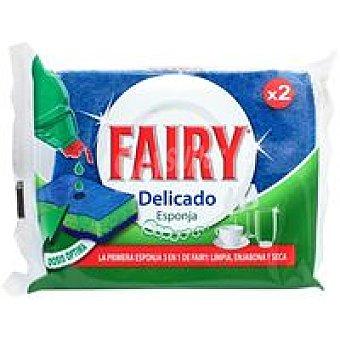 Fairy Esponja delicado Pack 2 unid