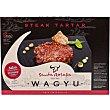 Vacuno de raza Wagyu Steak Tartar con salsa Bandeja 130 g Santa rosalia