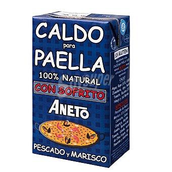 Aneto Caldo para paella (pescado y marisco) con sofrito 100% natural 1 kilogramo