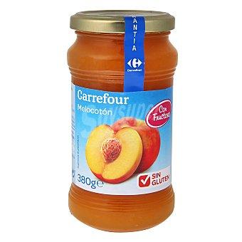 Carrefour Mermelada extra de melocotón con fructosa Diet - Sin Gluten 380 g
