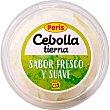 Cebolla tierna corte juliana sabor fresco y suave Tarrina 175 g Peris