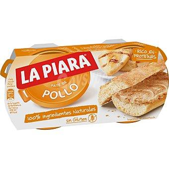 La Piara Paté de pollo Pack 2 latas 82 g