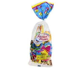 Jacquot Figuritas de Pascua, chocolate con leche 250g