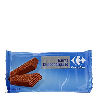 Carrefour Barritas de chocolate crujiente 160 g