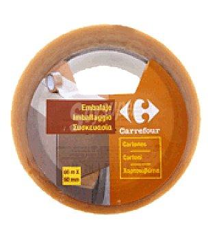 Carrefour Cinta embalar pvc TRANSPARENTE.66X50