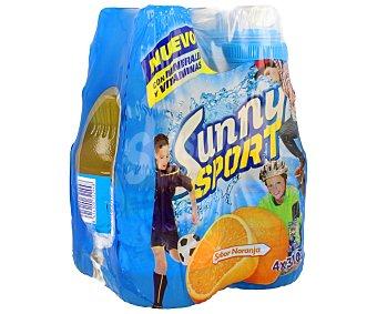 Sunny Delight Refresco de naranja Pack de 4 botellas de 310 mililitros
